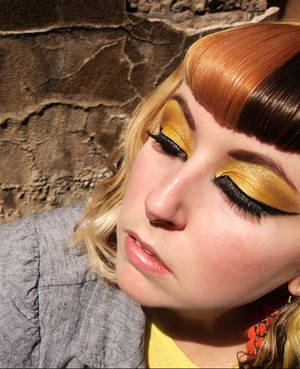 Bright Yellow and Black - Urban Decay Colors