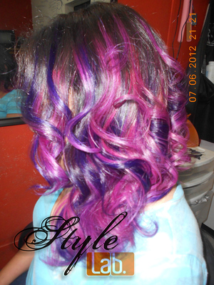 I love my job! It's all I ever wanted! Making people happy! She just picked the colors and I recomended the style! What do you think? Kinda ready for The Capitol or not?