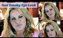 Teal Smoky Eye Makeup Look Tutorial