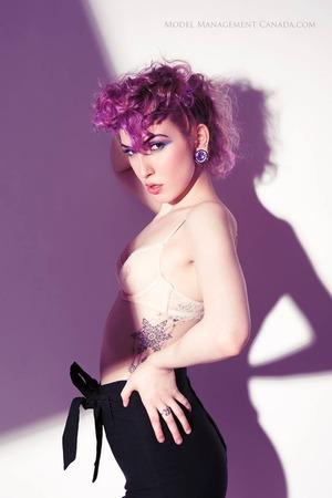 featuring the beautiful alt model, Ju Rebel