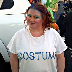 October 29 2011 - Trunk or Treat Costume 2