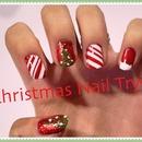 Easy Christmas nail