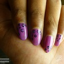 Tutorial - Nail Art - Dots .. Fast and Easy - by BangaloreBengaluru