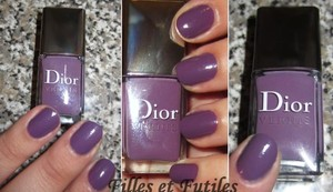 Dior nail polish in Forget-me-not ( Garden party spring 2012 collection )