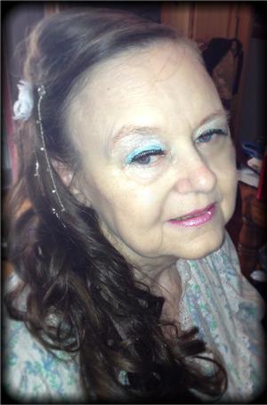 Bridal Hair updo long hair by Christy Farabaugh
