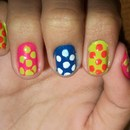 Colored Polka Dot