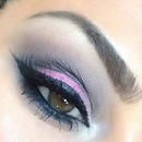 Pink and winged