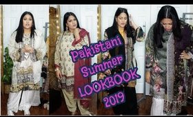 Pakistani Summer LOOKBOOK 🌞 | Fashion LookBook 2019