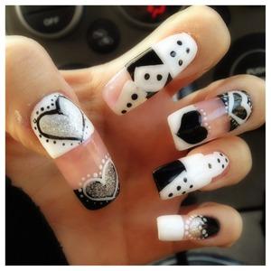 Dice on my nail