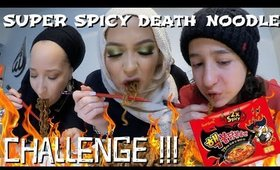 Spicy Noodles & JJajangmyeon Black Bean Noodles Challenge MUKBANG!!!