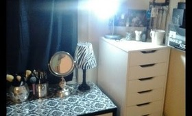 makeup collection and storage 2013