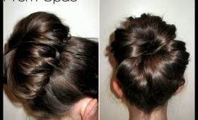 How To: Oversized Bun Prom Updo