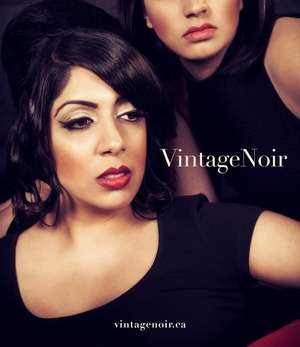 Hair and Makeupby Vintage Noir.  Photography by Flashing Lights