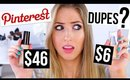 Pinterest Hacks TESTED #11 || Beauty Dupes Edition!