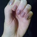 Mauve and Glitter