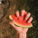 Watermelon nails🍉💅🏼