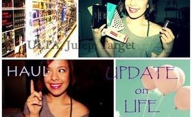 Collective Haul!  Target, Ulta, Drugstore Makeup!  + Update/Vlog