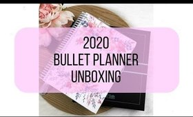 BULLET PLANNER 2020 UNBOXING
