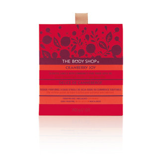 The Body Shop Cranberry Joy Scented Candle