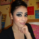 Tron Inspired Make Up
