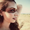 Mask Makeup Look