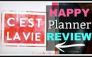 Happy Planner Review - Planner Overview, How I Use It, and How I Decorate My Happy Planner
