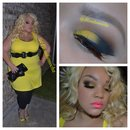 Retro Batman, smokey Yellow Eyeshadow