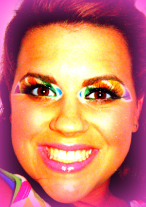 My Zebra Stripe Look with a cool effect !