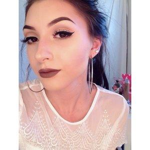 Anastasia BH liquid lipstick in sepia
