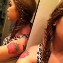 Swoop side braid