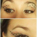 Leopard eyelook Just a tryout