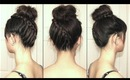 Spiral Staircase Braided Bun