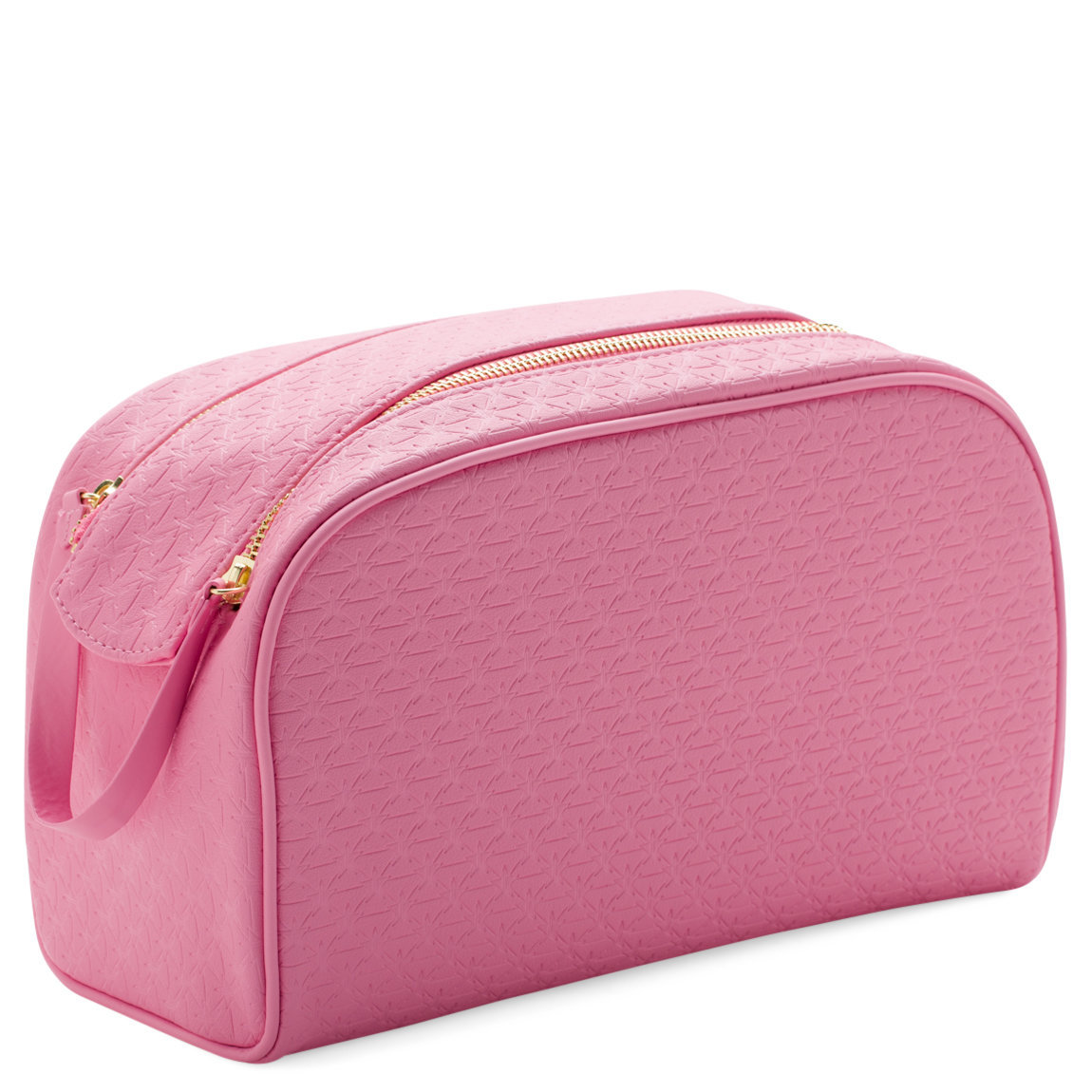 Jeffree Star Cosmetics Double Zip Makeup Bag Pink product smear.