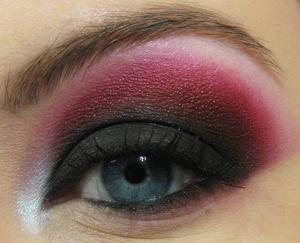 Close up of Helena eye