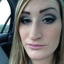 Did my makeup on the highway!