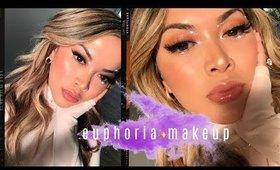 Euphoria Rhinestones Makeup using Drugstore Affordable Makeup Only!