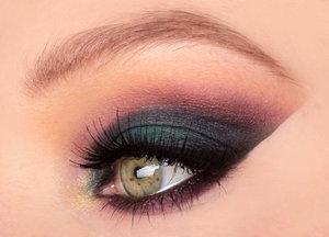 Smokey eyes with purple and blue colors. I hope you like it! Follow me on IG: http://instagram.com/makeupbyeline