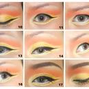 How to: Burning sun (eye)