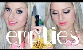 Things I'm Throwing Out! ♡ Empties & Reviews