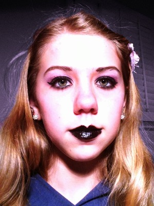 I was feeling extra gothic today.