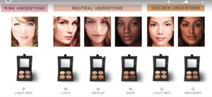 Makeup Forever has 3 contour duos (contour & highlight ). #1 is for pale skin. If you want a bigger palette, Cover FX has a variety of cream contour ...