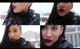 Winter Dark Lips