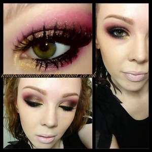Follow @kimpants on Instagram or visit my blog http://kimpantsmakeup.blogspot.co.uk to see more of my makeup and tutorials