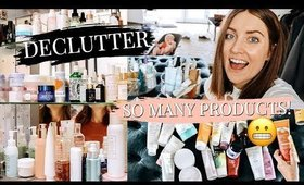HUGE DECLUTTER! SKINCARE/HAIR/BODY PRODUCTS   Kendra Atkins