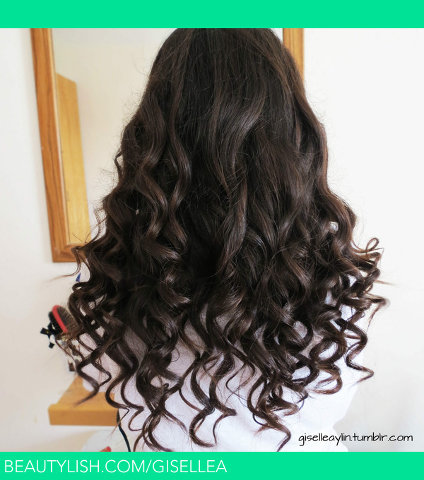 Curly Hair With A Wand Giselle A S Gisellea Photo