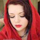 Little Red Riding Hood Inspired Makeup