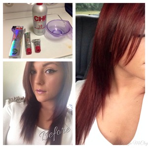 How I achieve my red hair