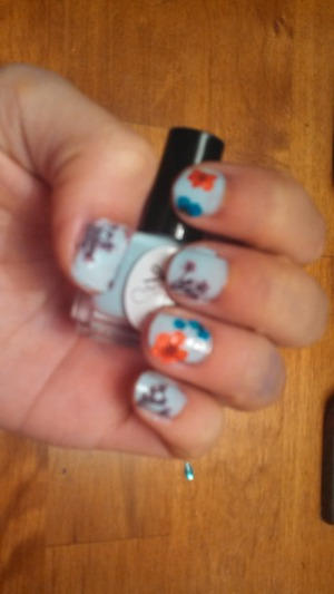 used ciate flower manicure