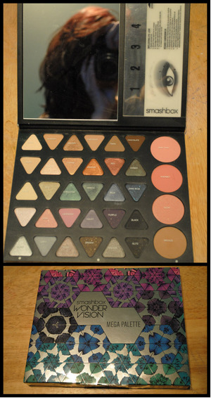 I received this makeup palette for my birthday today! It's honestly the best palette I've ever used. I highly recommend giving it a try or at least trying out other Smashbox products.