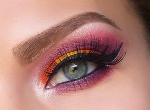 http://mariabergmark.wordpress.com/ http://instagram.com/mariabergmark_makeup Using Sugarpill Burning Heart Palette